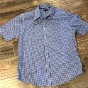 Casual Checkered Men's Buttoned Shirt